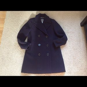 J Crew Stadium Cloth Pea Coat